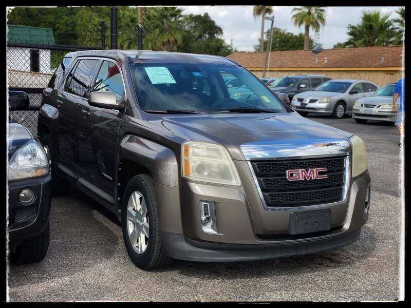 2010 GMC Terrain for sale at ASTRO MOTORS in Houston TX