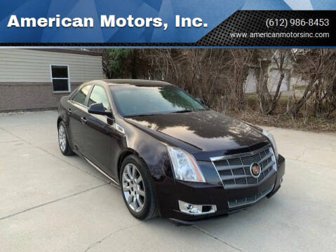 2010 Cadillac CTS for sale at American Motors, Inc. in Farmington MN