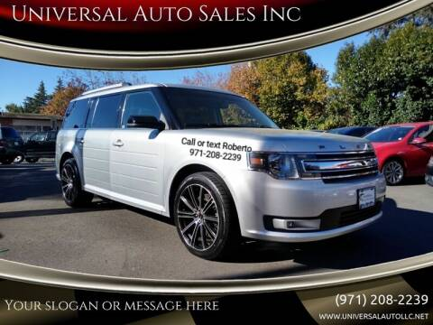 2013 Ford Flex for sale at Universal Auto Sales Inc in Salem OR