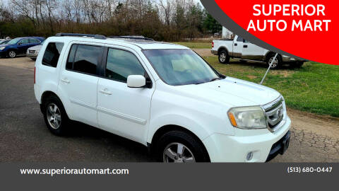 2010 Honda Pilot for sale at SUPERIOR AUTO MART in Amelia OH