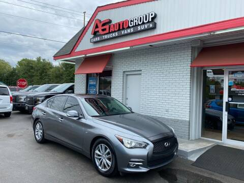 2014 Infiniti Q50 for sale at AG AUTOGROUP in Vineland NJ