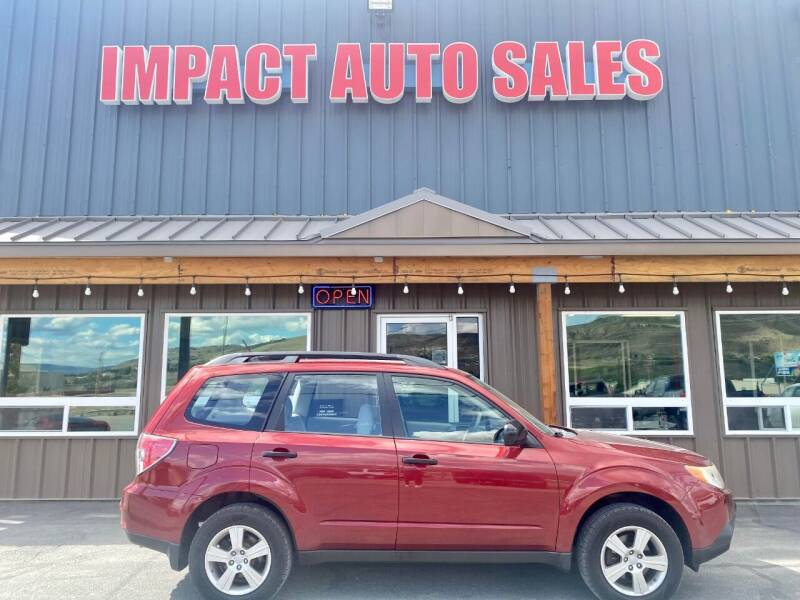 2012 Subaru Forester for sale at Impact Auto Sales in Wenatchee WA