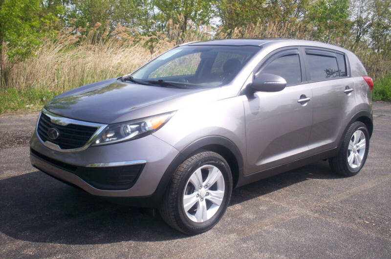 2013 Kia Sportage for sale at Action Auto Wholesale - 30521 Euclid Ave. in Willowick OH