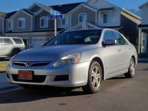 2007 Honda Accord for sale at Avanesyan Motors in Orem UT