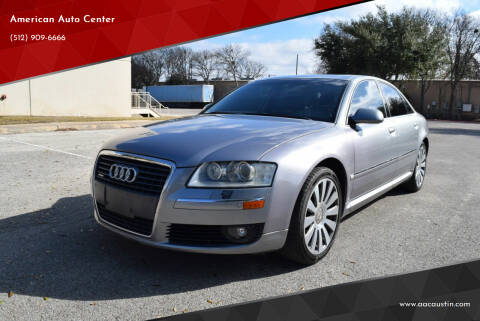 2006 Audi A8 for sale at American Auto Center in Austin TX