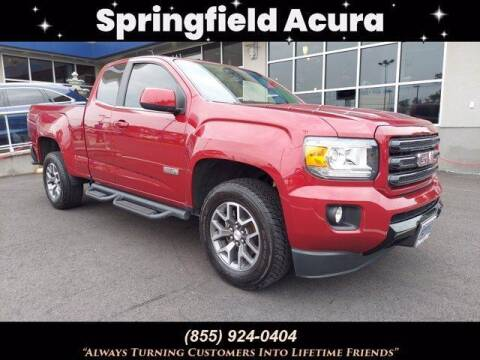 2018 GMC Canyon for sale at SPRINGFIELD ACURA in Springfield NJ