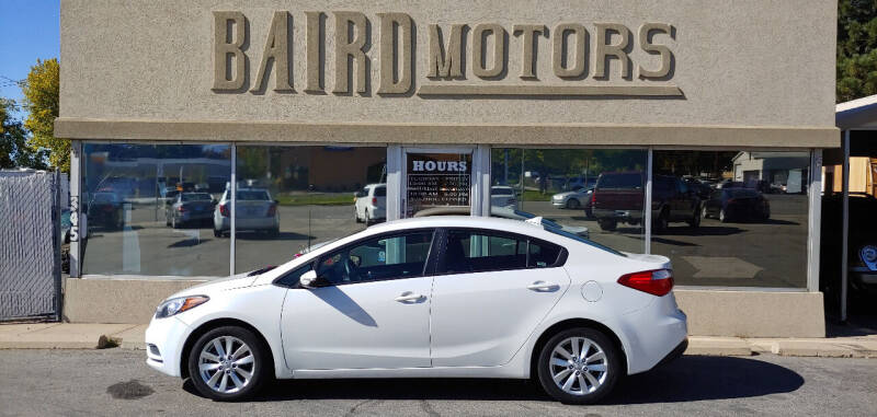 2016 Kia Forte for sale at BAIRD MOTORS in Clearfield UT