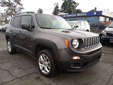 2017 Jeep Renegade for sale at All American Motors in Tacoma WA
