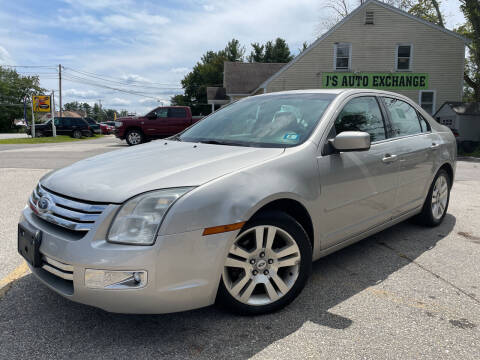 2007 Ford Fusion for sale at J's Auto Exchange in Derry NH