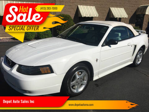 2003 Ford Mustang for sale at Depot Auto Sales Inc in Palmer MA