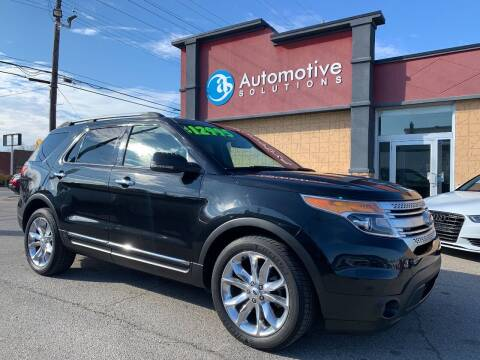 2013 Ford Explorer for sale at Automotive Solutions in Louisville KY