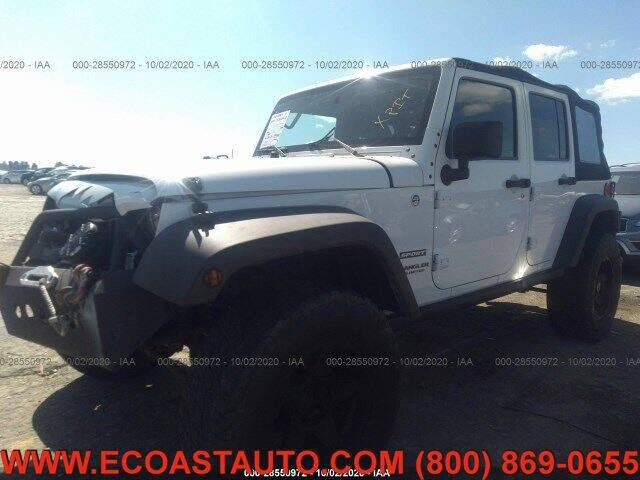 2012 Jeep Wrangler Unlimited for sale at East Coast Auto Source Inc. in Bedford VA