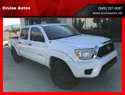 2013 Toyota Tacoma for sale at Cruise Autos in Corona CA