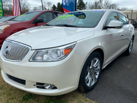 2011 Buick LaCrosse for sale at Cars for Less in Phenix City AL
