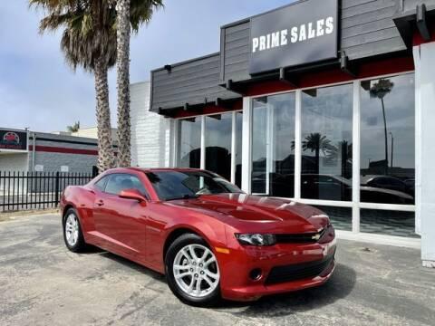 2014 Chevrolet Camaro for sale at Prime Sales in Huntington Beach CA