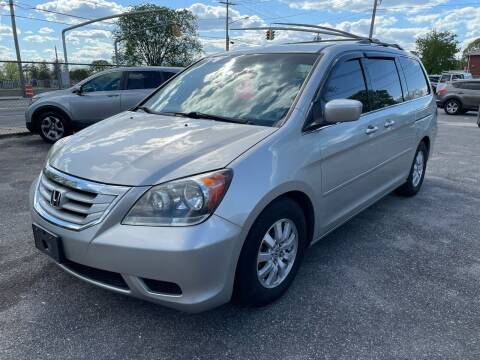 2014 Honda Odyssey for sale at American Best Auto Sales in Uniondale NY