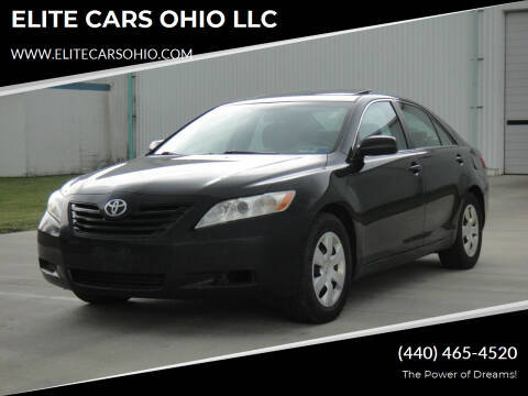 2009 Toyota Camry for sale at ELITE CARS OHIO LLC in Solon OH