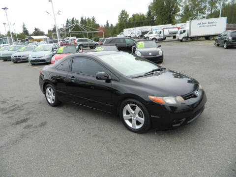 2006 Honda Civic for sale at J & R Motorsports in Lynnwood WA