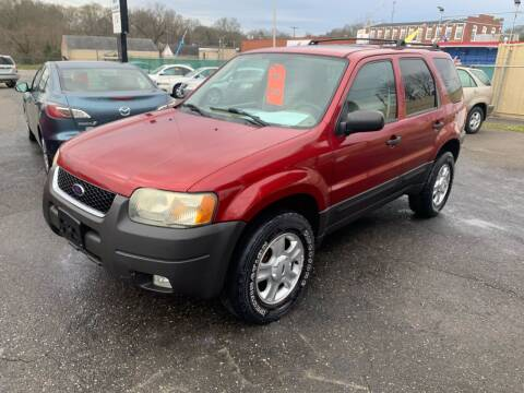 2004 Ford Escape for sale at LINDER'S AUTO SALES in Gastonia NC