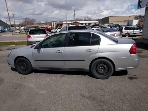 2005 Chevrolet Malibu for sale at Creekside Auto Sales in Pocatello ID