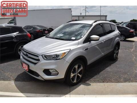 2017 Ford Escape for sale at South Plains Autoplex by RANDY BUCHANAN in Lubbock TX