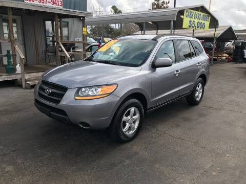 2008 Hyundai Santa Fe for sale at Texas 1 Auto Finance in Kemah TX