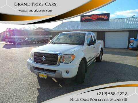 2009 Suzuki Equator for sale at Grand Prize Cars in Cedar Lake IN