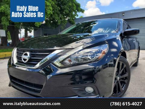 2017 Nissan Altima for sale at Italy Blue Auto Sales llc in Miami FL