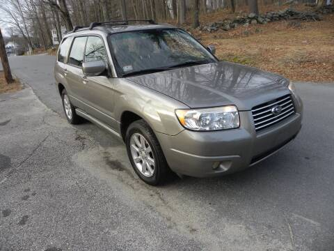 2006 Subaru Forester for sale at STURBRIDGE CAR SERVICE CO in Sturbridge MA