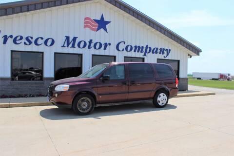 2007 Chevrolet Uplander for sale at Cresco Motor Company in Cresco IA