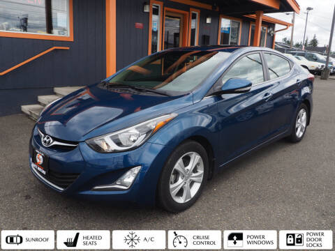 2016 Hyundai Elantra for sale at Sabeti Motors in Tacoma WA