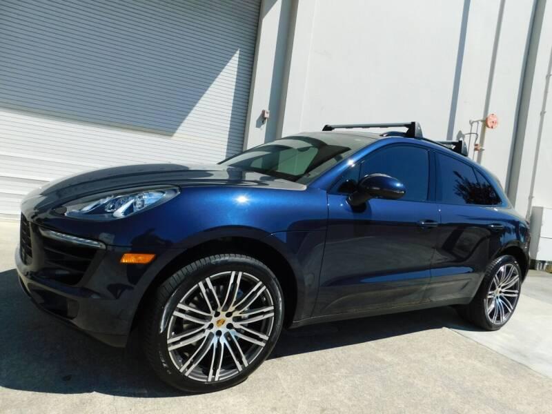 2018 Porsche Macan for sale at Conti Auto Sales Inc in Burlingame CA