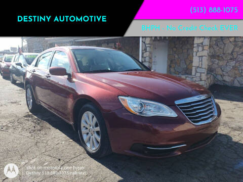 2012 Chrysler 200 for sale at DestanY AUTOMOTIVE in Hamilton OH
