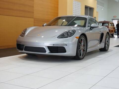 2017 Porsche 718 Cayman for sale at PORSCHE OF NORTH OLMSTED in North Olmsted OH