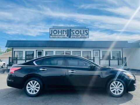 2015 Nissan Altima for sale at John Solis Automotive Village in Idaho Falls ID