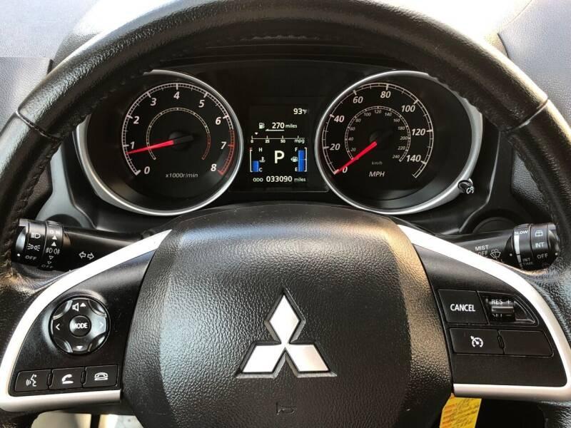 2015 Mitsubishi Outlander Sport ES 4dr Crossover CVT - Harrisonburg VA
