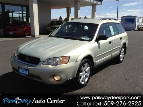 2006 Subaru Outback for sale at PARKWAY AUTO CENTER AND RV in Deer Park WA