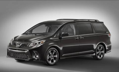 2018 Toyota Sienna for sale at Econo Auto Sales Inc in Raleigh NC