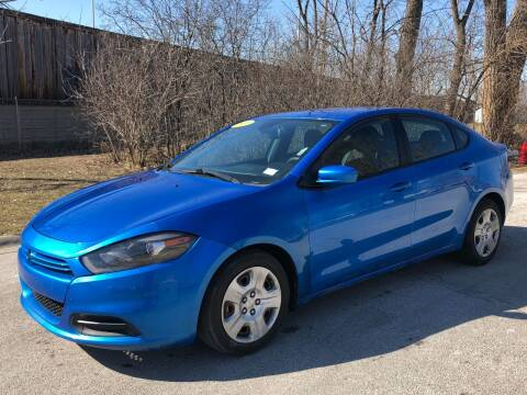 2016 Dodge Dart for sale at Posen Motors in Posen IL