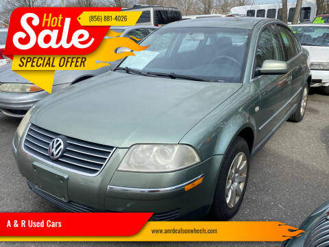 2003 Volkswagen Passat for sale at A & R Used Cars in Clayton NJ