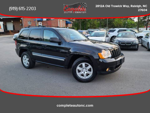 2010 Jeep Grand Cherokee for sale at Complete Auto Center , Inc in Raleigh NC