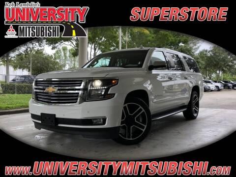 2020 Chevrolet Suburban for sale at University Mitsubishi in Davie FL