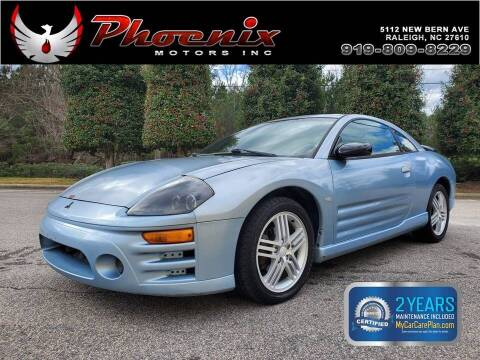 2003 Mitsubishi Eclipse for sale at Phoenix Motors Inc in Raleigh NC