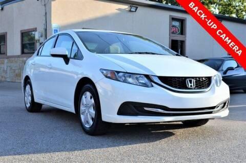 2014 Honda Civic for sale at LAKESIDE MOTORS, INC. in Sachse TX