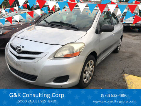 2007 Toyota Yaris for sale at G&K Consulting Corp in Fair Lawn NJ