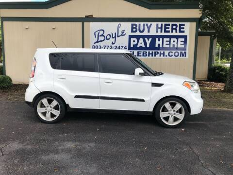 2010 Kia Soul for sale at Boyle Buy Here Pay Here in Sumter SC