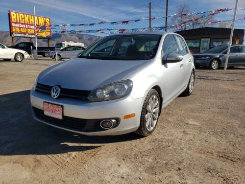 2013 Volkswagen Golf for sale at Bickham Used Cars in Alamogordo NM