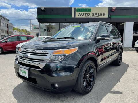 2014 Ford Explorer for sale at Wakefield Auto Sales of Main Street Inc. in Wakefield MA