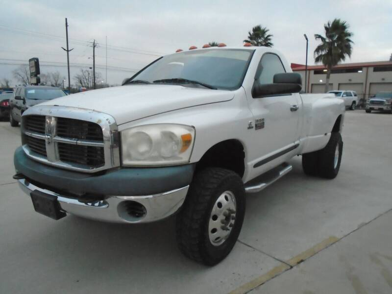 2008 Dodge Ram Pickup 3500 for sale at Premier Foreign Domestic Cars in Houston TX