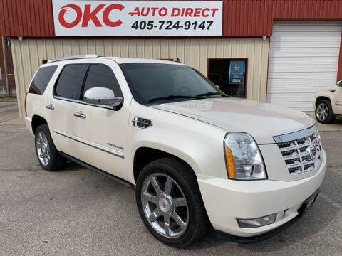 2010 Cadillac Escalade for sale at OKC Auto Direct in Oklahoma City OK